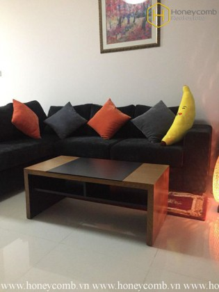 The colorful 2 bedrooms-apartment for leasing in The Vista