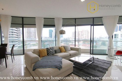 The 3 bedrooms apartment with urbans tyle in City Garden