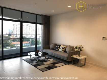 What a modern 1 bedrooms-apartment in City Garrden