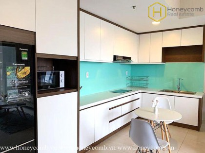 Brand new 2 beds apartment with high floor in Masteri Thao Dien