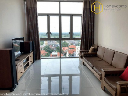 Modern decorated with 2 bedrooms apartment in The Vista for rent
