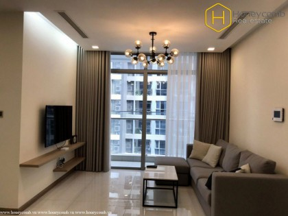 Beautiful decorated with 2 bedrooms apartment in vinhomes Central Park