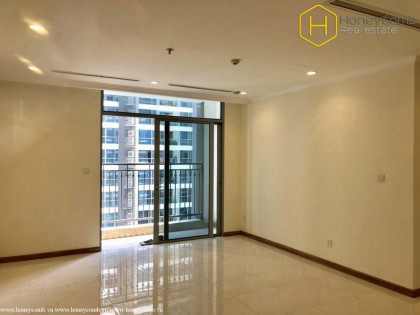 Unfurniture with 1 bedroom apartment in Vinhomes Central Park