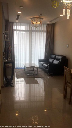 Delicated with 2 bedrooms apartment in Vinhomes Central Park for rent