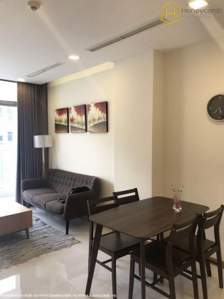 Perfect interior with 2 bedrooms apartment in vinhomes Central Park for rent
