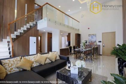 Luxury with 2 bedrooms duplex apartment in Vista Verde for rent