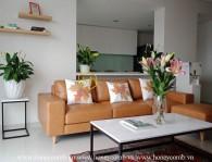 Căn hộ sân vườn 3 phòng ngủ với đầy đủ nội thất cho thuê tại City Garden