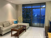 The City Garden apartment with interfusion of minimalist and rustic styles ! Now for rent !