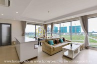 Comtemporary design apartment with neutral color interiors for rent in Diamond Island