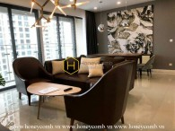 The Estella Heights apartment with interfusion of elegant and luxurious styles ! Now for rent !