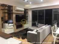 Căn hộ 3 phòng ngủ tuyệt vời với sàn cao tại Masteri Thảo Điền