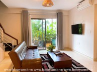 Duplex 2 bedrooms apartment with nice view in Masteri Thao Dien