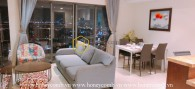 Masteri Thao Dien 3-bedrooms apartment with open kitchen for rent