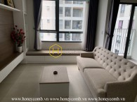 Elegant design with great decoration apartment for rent in Masteri Thao Dien