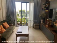 Youthful designed apartment with urban breath in Masteri Thao Dien for rent