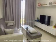 Good price! Two bedrooms apartment with low floor in Masteri Thao Dien for rent