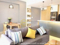Nice decoration 2 beds apartment in Masteri for rent