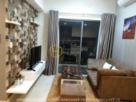 Simply designed apartment with reasonable rental price in Masteri Thao Dien