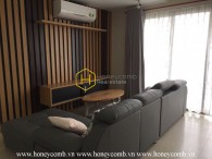 Low floor three beds apartment luxury in Masteri for rent