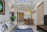 Thiết kế đơn giản với căn hộ 2 phòng ngủ tại New City Thủ Thiêm