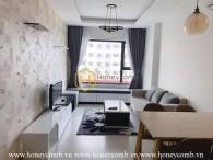 Căn hộ 1 phòng ngủ với phong cách tinh xảo cho thuê tại New City Thủ Thiêm