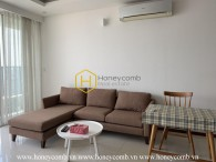 This 2 beds apartment is a combination of lightness and classic in Thao Dien Pearl