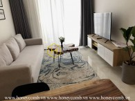The 1 bedroom apartment is very cozy and convenient in Vinhomes Golden River