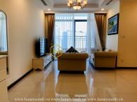 Convenient & Comfortable apartment for rent in Vinhomes Central Park