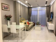 Small but cozy apartment in Vinhomes Central Park that best suits young couples or people living alone