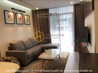 This luxury apartment in Vinhomes Central Park is exclusively designed for high-class residences!