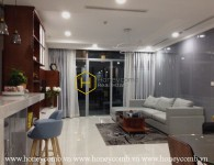 Captivating apartment for rent in Vinhoms Central Park ! Now for rent