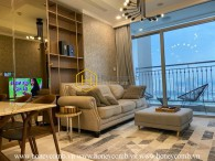 Explore classy urban lifestyle with this luxury apartment in Vinhomes Central Park