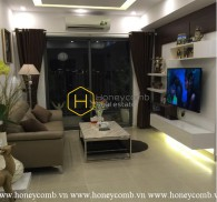 The 3 bed-apartment with high-class furniture and cozy design at Masteri Thao Dien