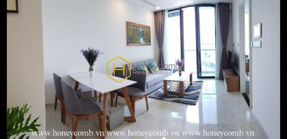 This 2 bedrooms apartment is suitable for the person who loves the way of breaking in Vinhomes Golden River