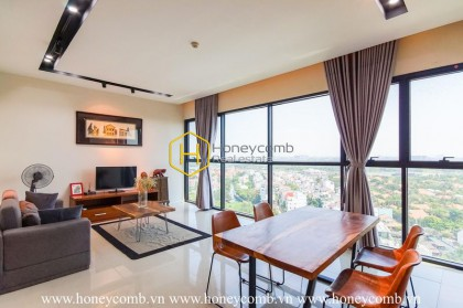 The 2 bedrooms-apartment with rustic and elegant decoration in The Ascent