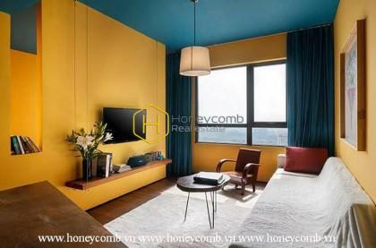 Good furniture! 1 bedroom apartment in Masteri Thao Dien