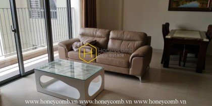 Masteri Thao Dien 2 beds apartment with large balcony for rent