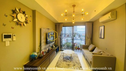 Friendly designed 2 beds apartment in Masteri Thao Dien