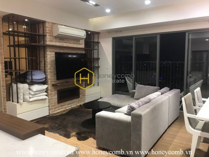 Wonderful 3 beds apartment with high floor in Masteri Thao Dien