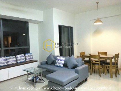 Masteri Thao Dien 2 beds apartment with river view and high floor