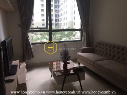 Low floor 1-bedroom apartment in Masteri Thao Dien