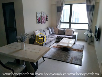 Nice furnished 1 bedroom apartment in Masteri Thao Dien for rent