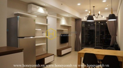 The simple 2 bedroom-apartment with minimalist style from Masteri Thao Dien
