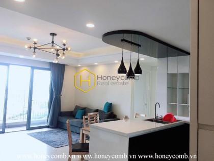 Simplified design apartment in Masteri Thao Dien for rent
