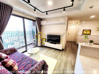 Everything you need for a simple life is right in this amazing apartment! Now for rent in Masteri Thao Dien