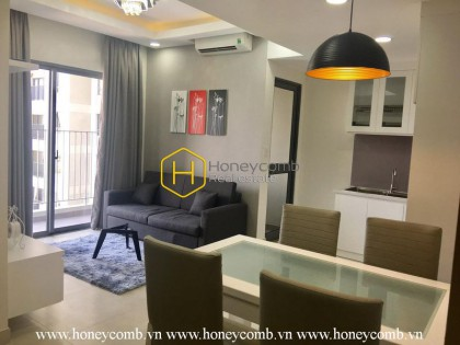 Two bedrooms apartment with low floor and full furniture for rent in Masteri Thao Dien
