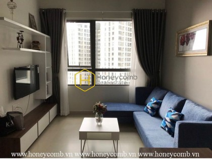 Two beds apartment park view and high floor in Masteri for rent