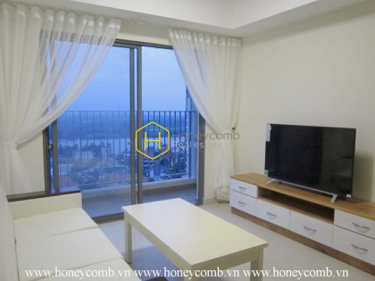 3-bedrooms apartment with river view in Masteri for rent