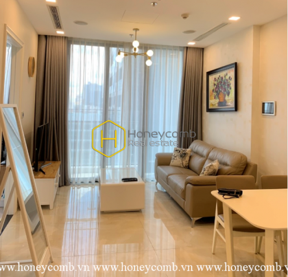 The 2 bedrooms-apartment with natural open space in Vinhomes Golden River