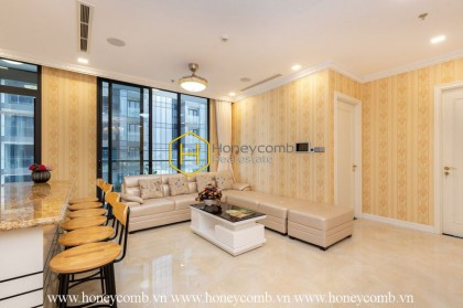 Royal layouts with charming design apartment for lease in Vinhomes Golden River
